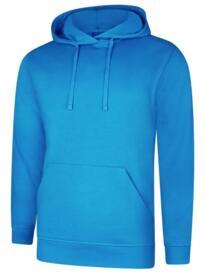 Deluxe Hooded Sweatshirt - Reef Blue