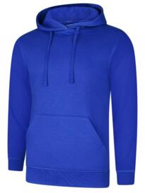 Deluxe Hooded Sweatshirt - Royal Blue