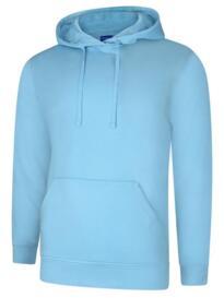Deluxe Hooded Sweatshirt - Sky Blue