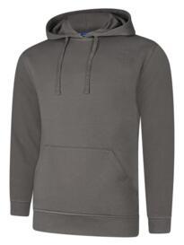 Deluxe Hooded Sweatshirt - Steel Grey