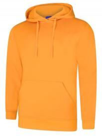 Deluxe Hooded Sweatshirt - Tiger Gold