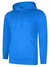 Deluxe Hooded Sweatshirt - Tropical Blue