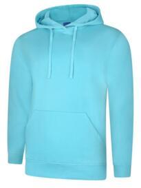 Deluxe Hooded Sweatshirt - Turquoise
