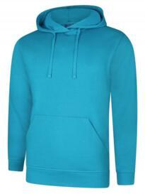 Deluxe Hooded Sweatshirt - Sapphire Blue