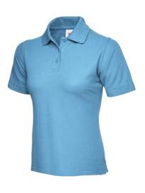 Uneek Ladies Polo Shirt - Sky Blue
