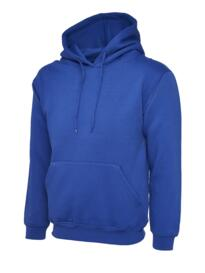 Uneek Premium Hooded Sweatshirt - Royal Blue