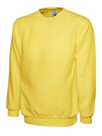 Uneek Childrens Sweatshirt - Yellow