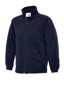 Uneek Childrens Full Zip Micro Fleece Jacket - Navy Blue