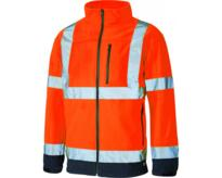 Dickies Hi Vis Softshell Jacket - Orange