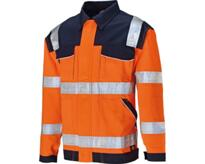 Dickies Industry Hi-Vis Jacket - Orange
