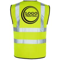 Discounted HiVis Vest for Printing - Yellow