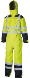 Dickies SA7000 Waterproof Safety Coverall - Yellow