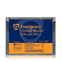 Blue Dot Emergency Thermal Blanket 204cm x 140cm (Each) - Single