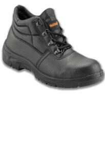Worktough 100 D Ring Chukka Work Boot - Black
