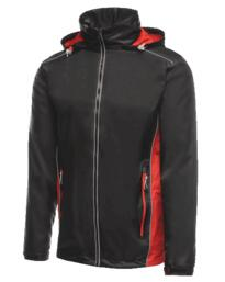Moscow Shell Jacket from Regatta - Black / Classic Red