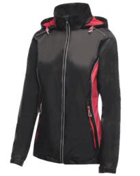 Moscow Shell Jacket for Women from Regatta - Black / Hot Pink