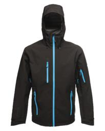 Regatta TRW481 Triode Technical 3-layer Jacket - Black / Methyl Blue
