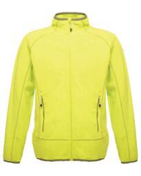 Ashmore full zip fleece jacket from Regatta - Lime Green