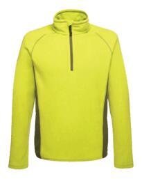 Ashmore half zip fleece jacket from Regatta - Lime Green