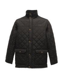 Regatta TRA441 Tyler Diamond Quilt Jacket - Black