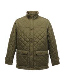 Regatta TRA441 Tyler Diamond Quilt Jacket - Dark Khaki