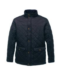 Regatta TRA441 Tyler Diamond Quilt Jacket - Navy Blue