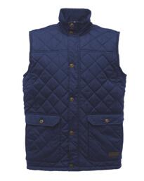 Regatta TRA810 Tyler Diamond Quilt Bodywarmer - Navy Blue