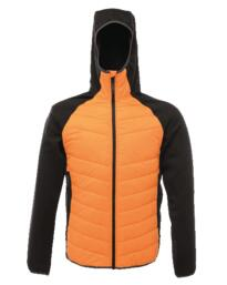 Deerpark down touch hybrid jacket - Sun Orange / Black