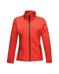 Regatta TRA689 Octagon II Ladies Softshell Jacket - Classic Red