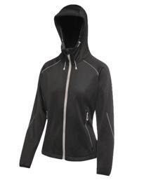 Helsinki powerstretch womens jacket from Regatta - Black