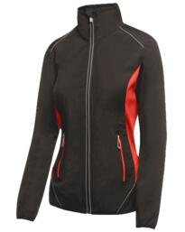 Sochi womens softshell jacket from Regatta - Black / Classic Red
