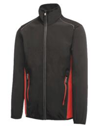 Sochi softshell jacket from Regatta - Black / Classic Red