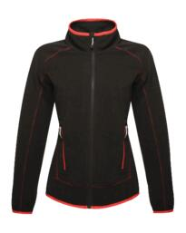 Ashmore full zip womens fleece jacket from Regatta - Black