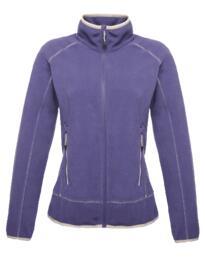 Ashmore full zip womens fleece jacket from Regatta - Elderberry