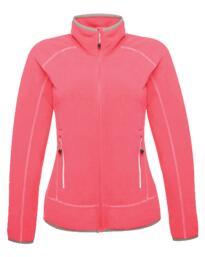Ashmore full zip womens fleece jacket from Regatta - Hot Pink