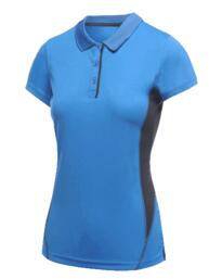 Salt Lake Womens Polo Shirt from Regatta - Oxford Blue / Navy Blue