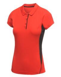 Salt Lake Womens Polo Shirt from Regatta - Classic Red