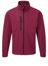 Tern softshell jacket from Orn Clothing - Burgundy