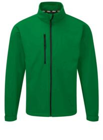 Tern softshell jacket from Orn Clothing - Kelly Green