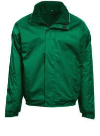 Fulmar Bomber Jacket from Orn Clothing - Bottle Green