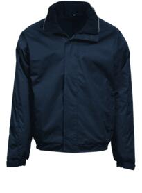 Fulmar Bomber Jacket from Orn Clothing - Navy Blue