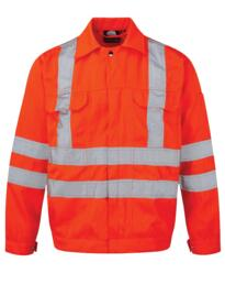 Hi-Vis Rook Jacket from ORN clothing - Orange