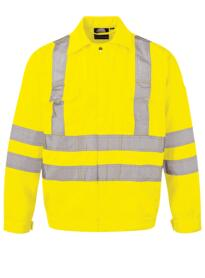 Hi-Vis Rook Jacket from ORN clothing - Yellow