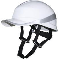 Baseball Diamond V Up Helmet from Deltaplus - White