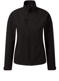 Ladies Tern softshell jacket from Orn Clothing - Black