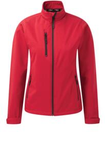 Ladies Tern softshell jacket from Orn Clothing - Red