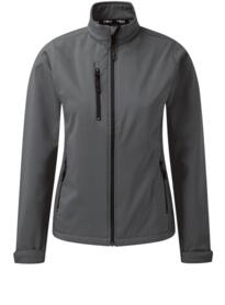 Ladies Tern softshell jacket from Orn Clothing - Graphite
