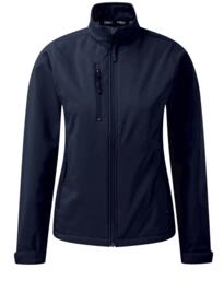 Ladies Tern softshell jacket from Orn Clothing - Navy Blue