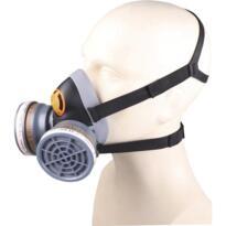 Delta M6400 Spray Half-Mask - Black / Grey