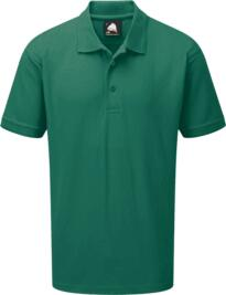 Eagle Polo Shirt from ORN clothing - Bottle Green